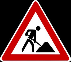 Musterfoto Straßensperrung pixabay