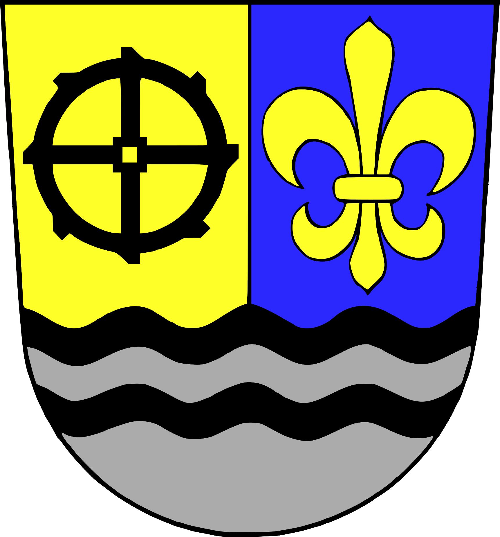 Wappen für den Ortsteil Herzlich Willkommen in Gersheim! - Gersheim