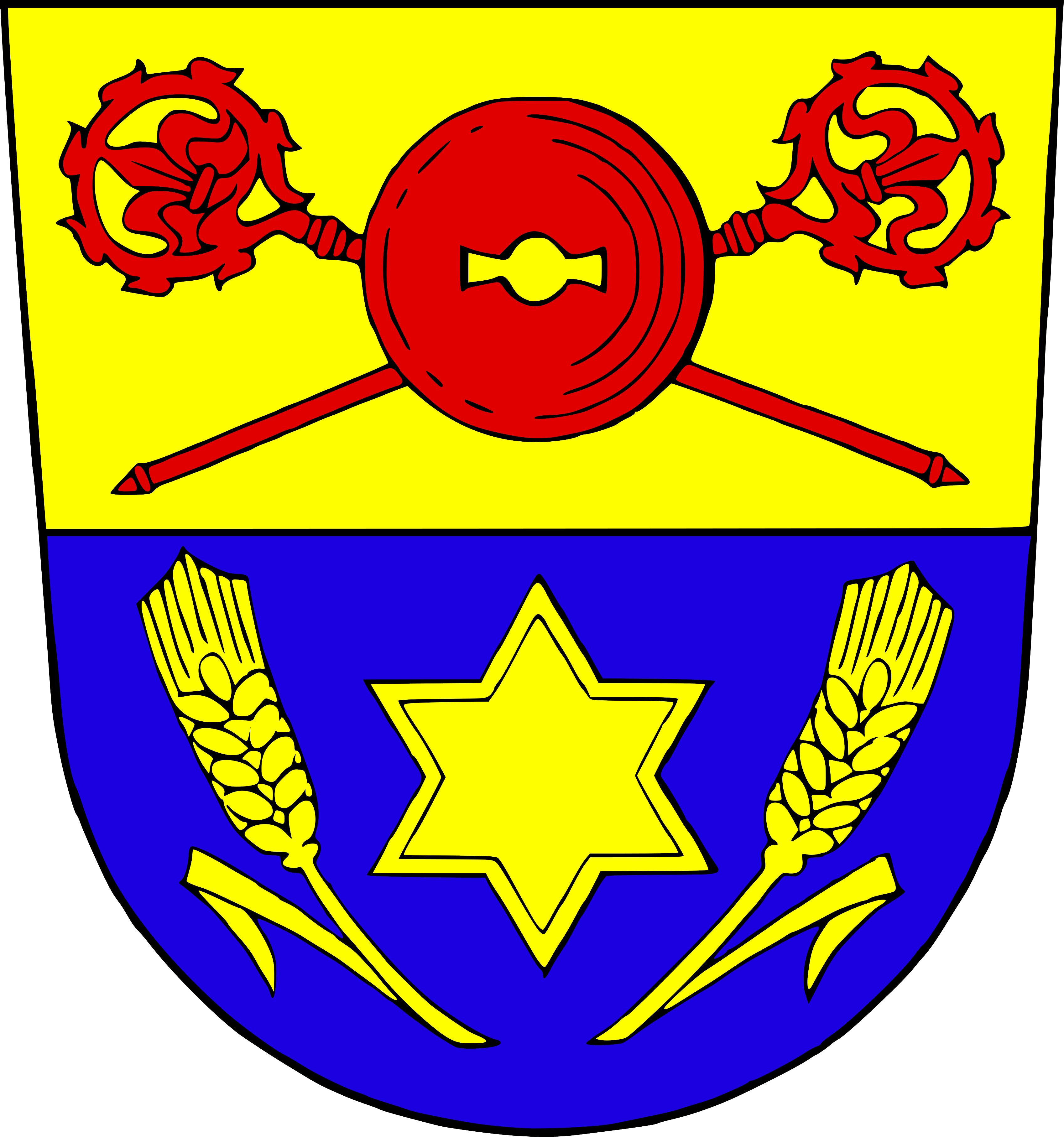 Wappen für den Ortsteil Herzlich Willkommen in Peppenkum! - Gersheim