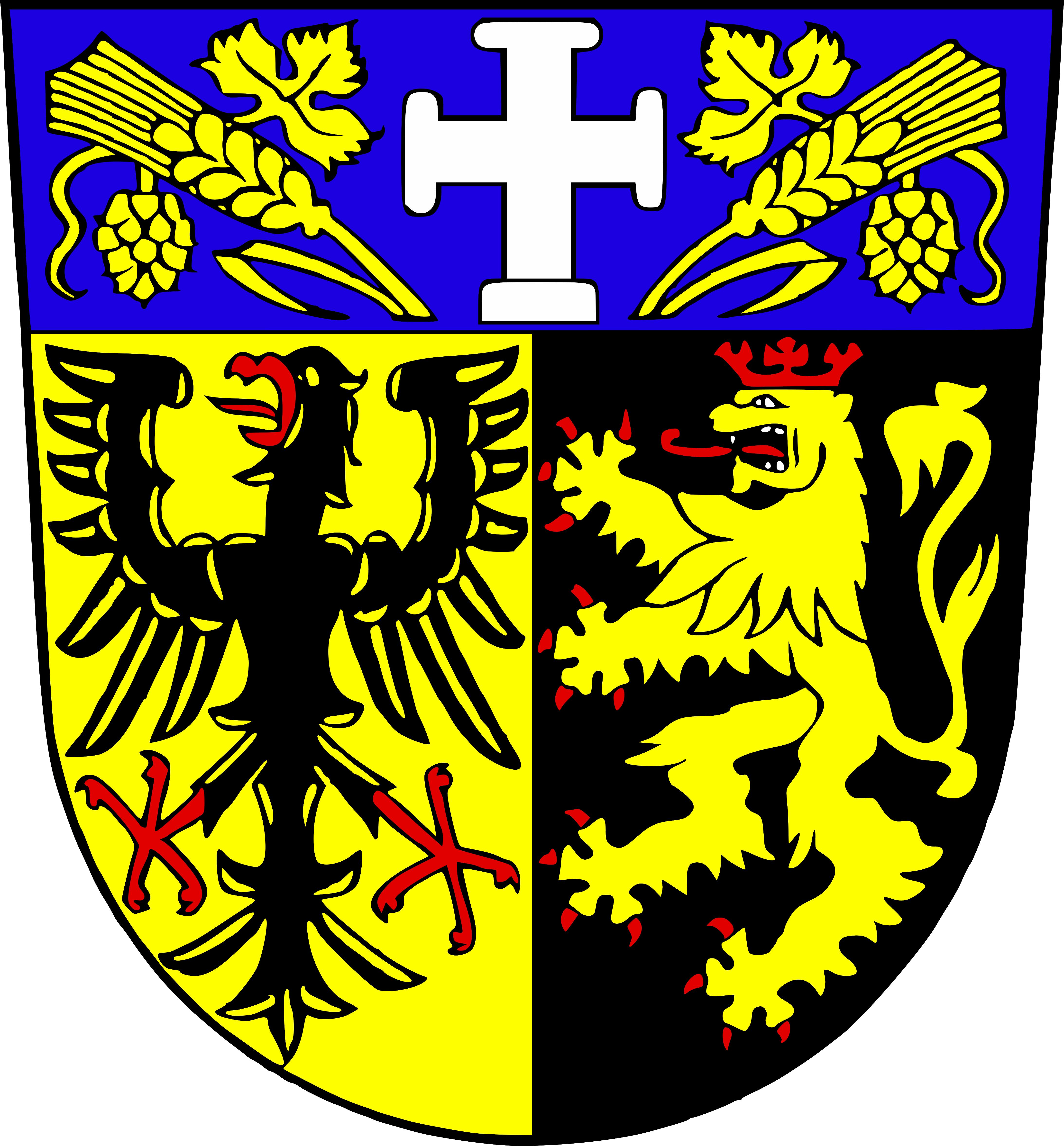 Wappen für den Ortsteil Herzlich Willkommen in Walsheim! - Gersheim
